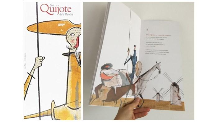 cuentos libros lecturas recomendadas verano 2018 Don quijote mancha para niños