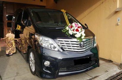 Mobil Pengantin Alphard