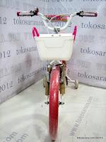 2 Sepeda Anak United Pretty Girl Aluminium Alloy Frame 18 Inci