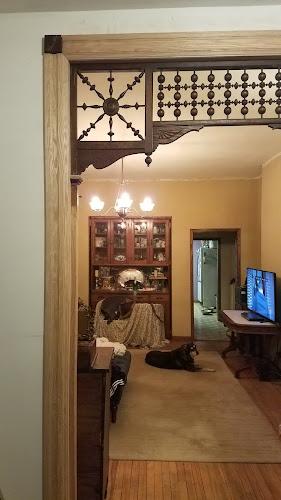 Victorian house interior trim
