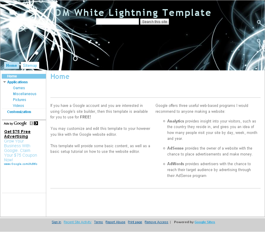 Dm templates for Lightning link template