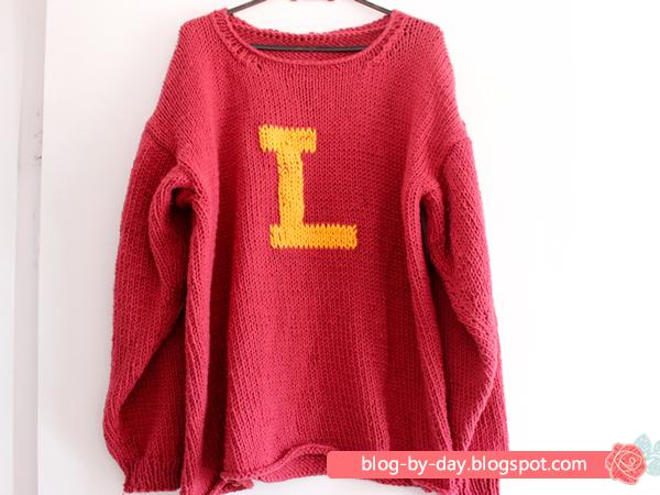Weasley Sweater em Tricô :: Receita e Passo a Passo