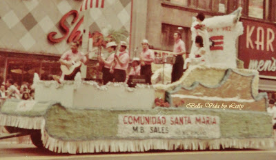 Puerto Rican Day Parade Float Vintage Chicago