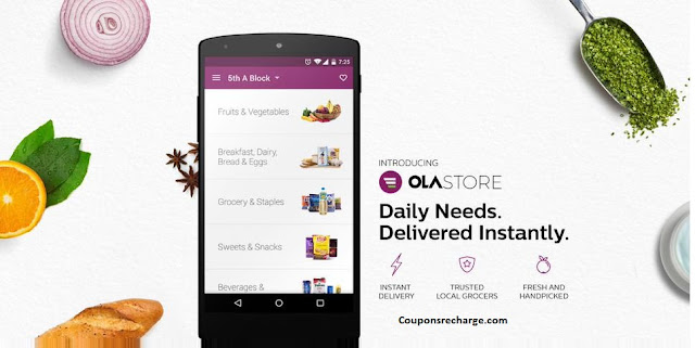 ( Ola Store  New Users ) – Get Rs. 100 Off on a minimum Purchase Of Rs. 200