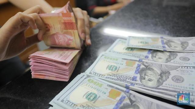 Cadangan Devisa Terkuras Terus, Rupiah Menuju Rp16 Ribu/US$