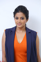 Priyamani in Beautiful Short Deep neck Orange Dress ~  Exclusive 23.JPG
