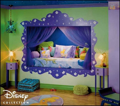 Decorating theme bedrooms maries manor fairy tinkerbell for Childrens bedroom ideas girls