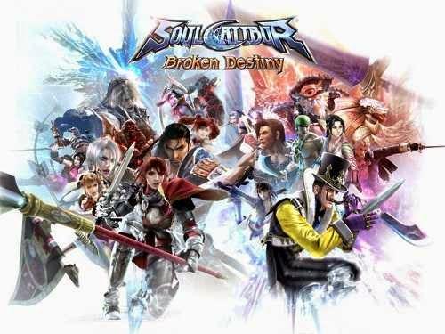 Download Soul Calibur - Broken Destiny PSP