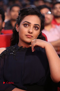 Nithya Menon Latest Stills at at Janatha Garage Movie Audio Launch  0132