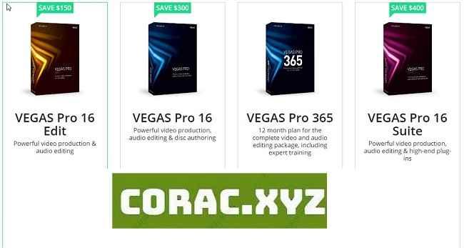Sony Vegas Pro 16 full