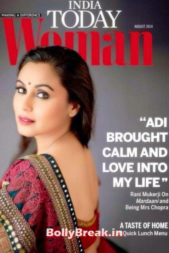 Rani Mukerji, August 2014 Indian Magazine Covers