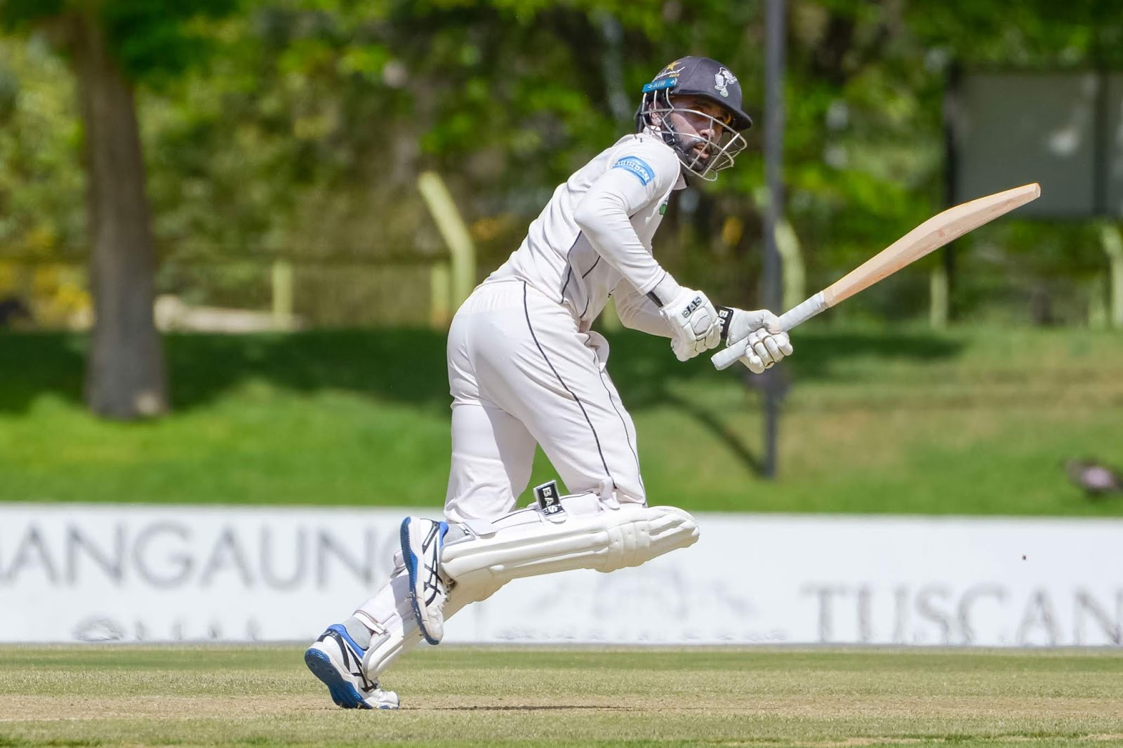 Cody Chetty batting for the Hollywoodbets Dolphins in the CSA 4-Day Franchise Series