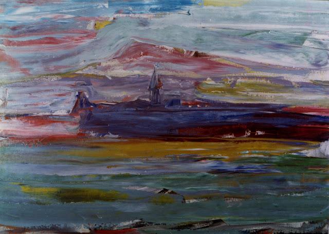 Sixte Blasco arte contemporáneo paisaje expresionismo