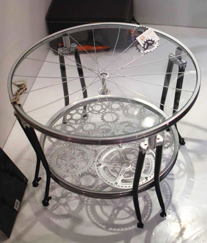 How To Recycle Recycled Bike Into An Arts And Design