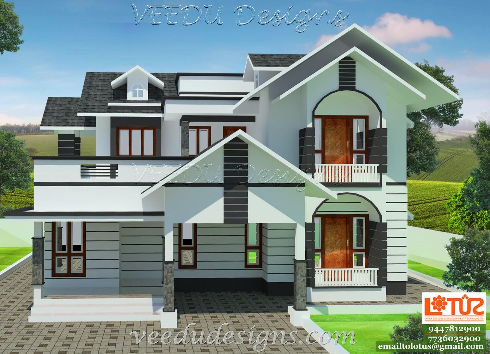 House compound wall design joy studio design gallery best design - Elevation Of Kerala House Joy Studio Design Gallery Best Design