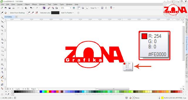 Cara Mengubah Gambar Mode Warna RGB Menjadi CMYK dengan Corel Draw X7