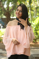Rakul Preet Singh in lovely Pink Crop Top and Black Trousers at Jaya Janaki Nayaka success meet 053.JPG