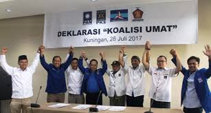PAN, PKS, Gerindra dan Demokrat Bersatu Deklarasikan Koalisi Umat