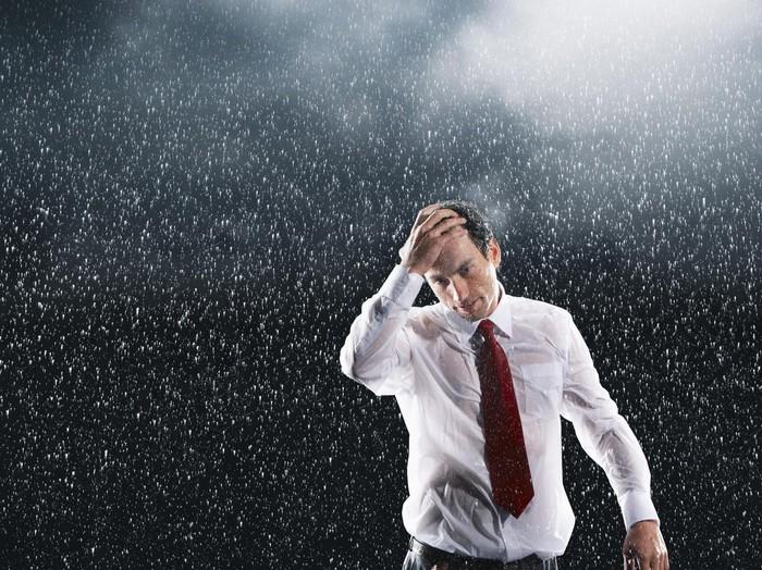 Kenapa kehujanan bikin demam