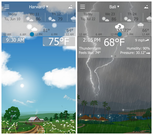YoWindow Weather Apk descarga gratuita