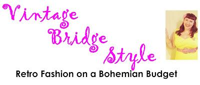 Vintage Bridge Style - retro fashion on a bohemian budget, a plus size pin up bargain hunter beauty blog
