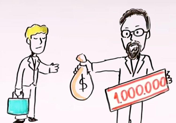 Para kazanma yolları arasındaki en riskli yöntem olsa da milyoner olmayı başamıştı.