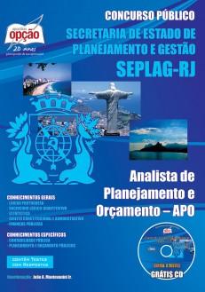 Apostila CONCURSO SEPLAG RJ - Secretaria Estadual de Planejamento e Gestão