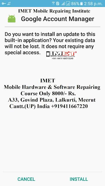 Google Account Manager Pie V9.0 XX Apk - IMET Mobile Repairing Institute IMET Mobile Repairing Course
