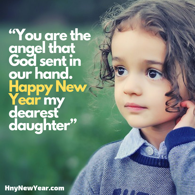 happy new year wishes for daughter 2019