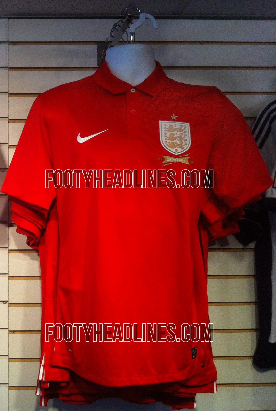 Nike England 2013 Away Shirt Leaked Footy Headlines
