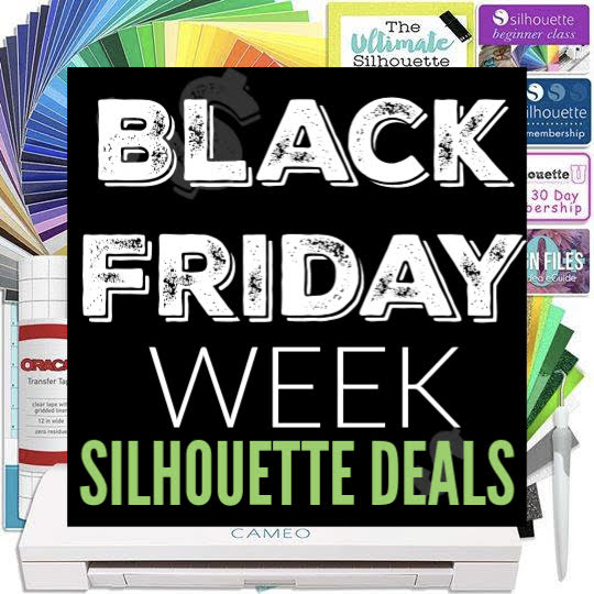 2c53c674 Well you're in luck because the Black Friday deals on Silhouette are  starting now! I'll continue to update this post through the end of next  week so ...