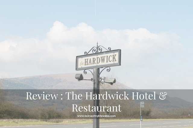 Review of the hardwick restaurant and hotel in abergavenny scenic photo of hardwick sign with mountain views in background on sunny day