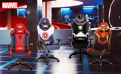 Neo Chair Licensed Marvel Gaming Chair for Children Adults 1 Year Warranty