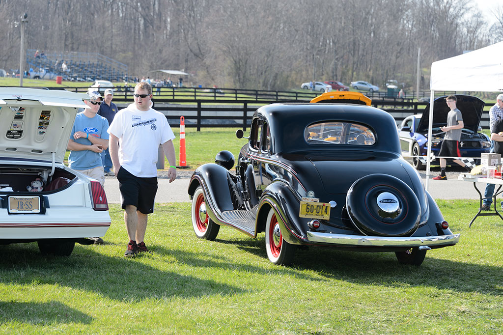 Vintage Terraplane at Summit Point Cars and Coffee