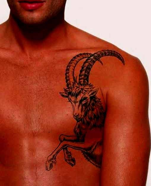 e262ac0dc 38 Best Capricorn Tattoos Designs And Ideas With Meanings