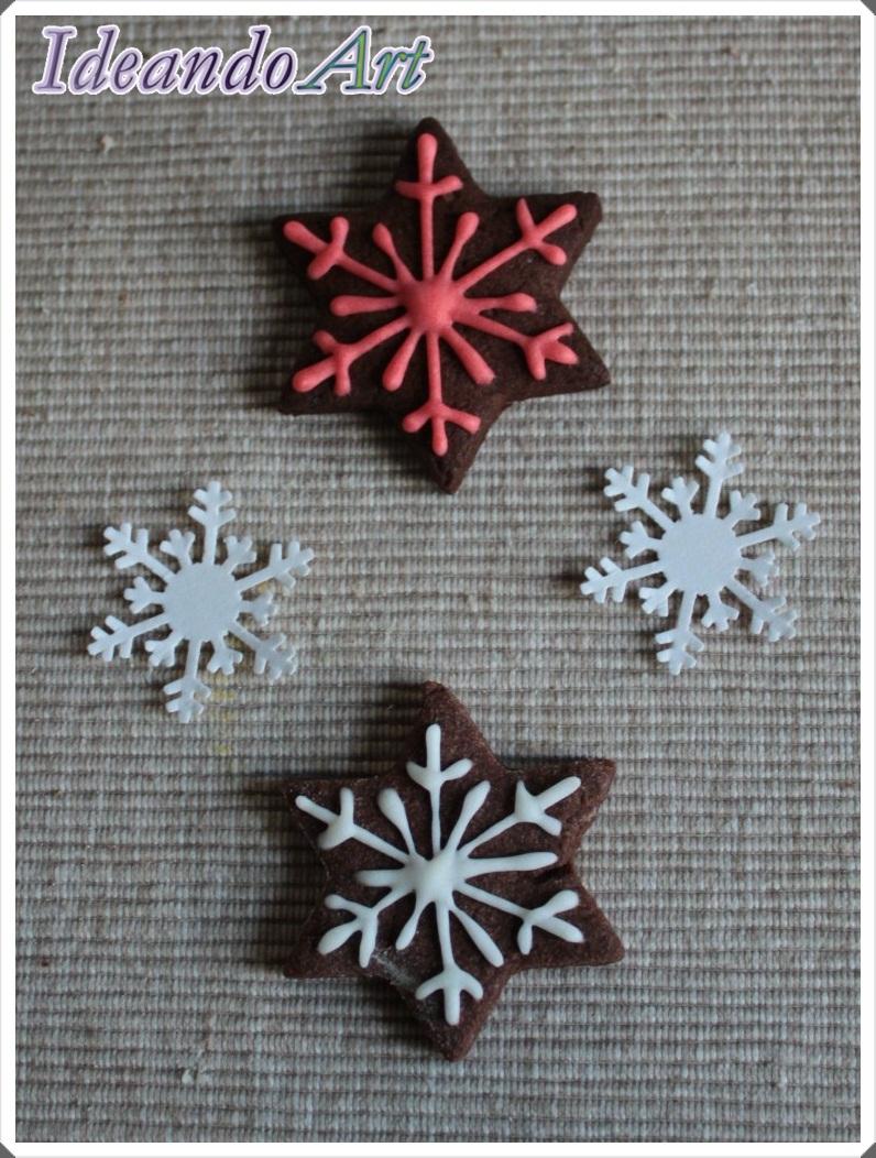 Galletas chocolate nieve