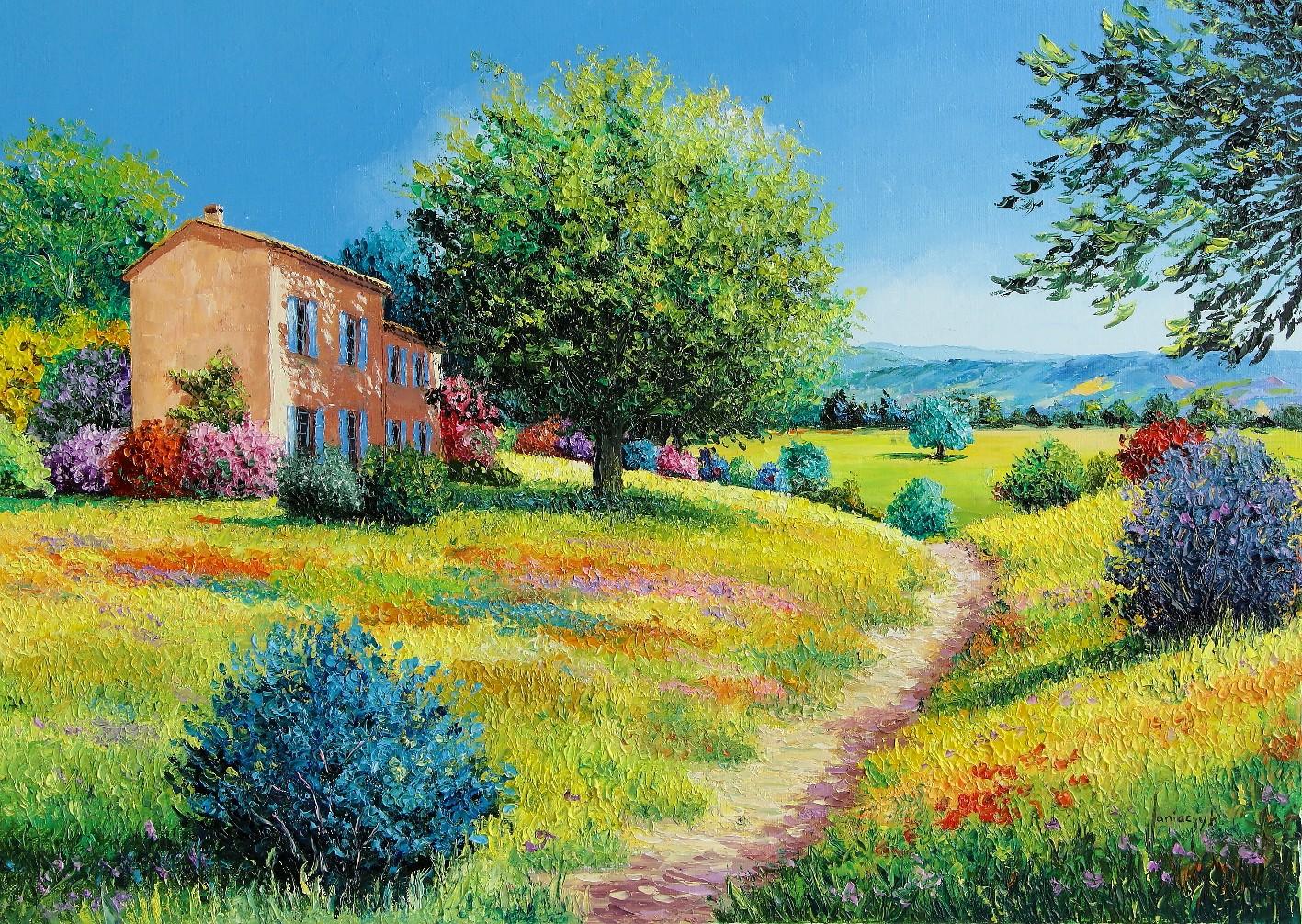 Casa no Verão - Cores alegres e vibrantes nas paisagens de Jean-Marc