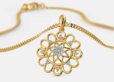 model kalung emas baru