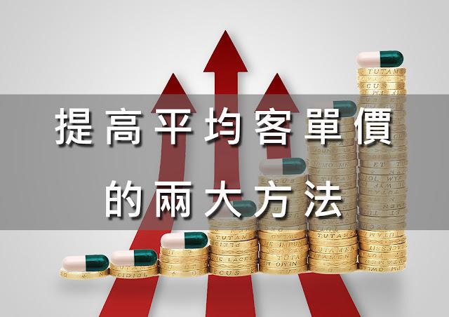 提高平均客單價的兩大方法