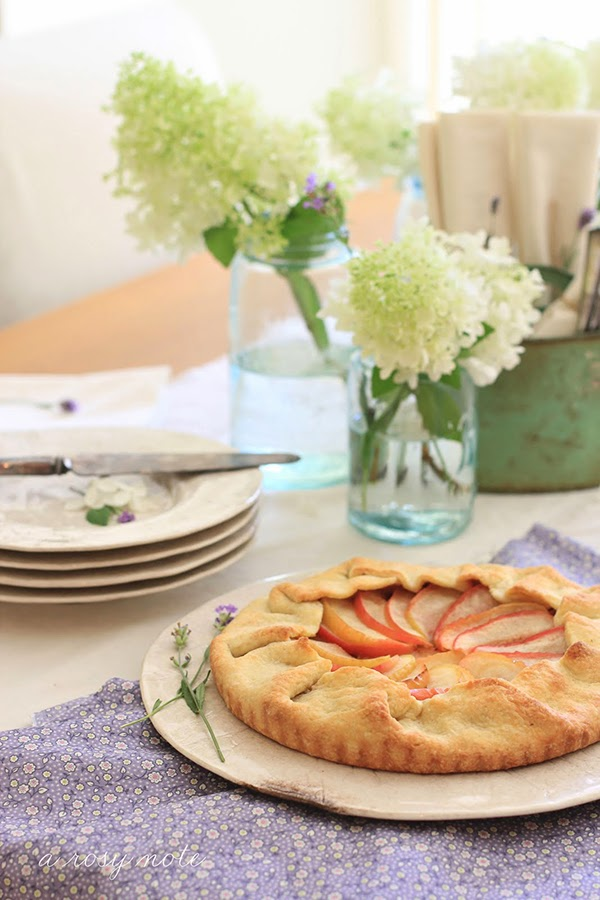 autumnal apple pie