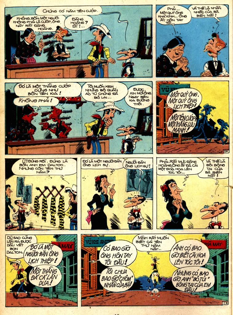 Lucky Luke tap 1 - ban tay nham trang 5