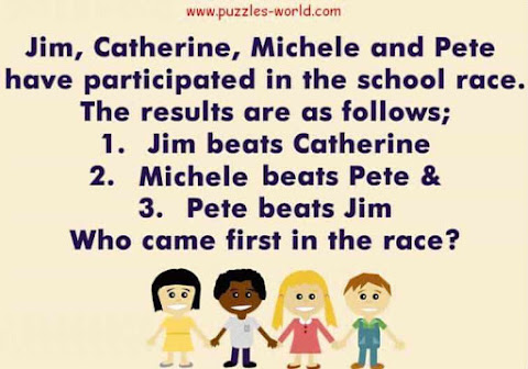Who came first in the race ?