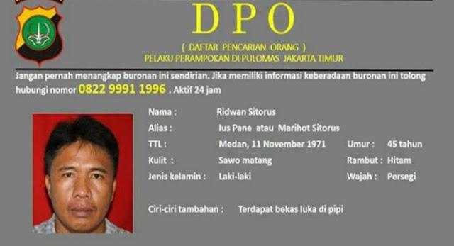 Buronan Perampokan Pulomas Berhasil Dibekuk Polisi di Medan
