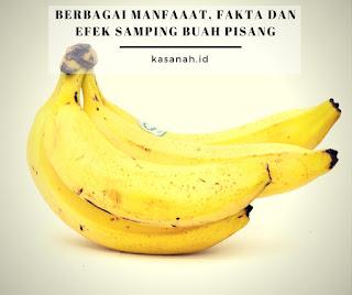 Buah pisang yang sudah matang