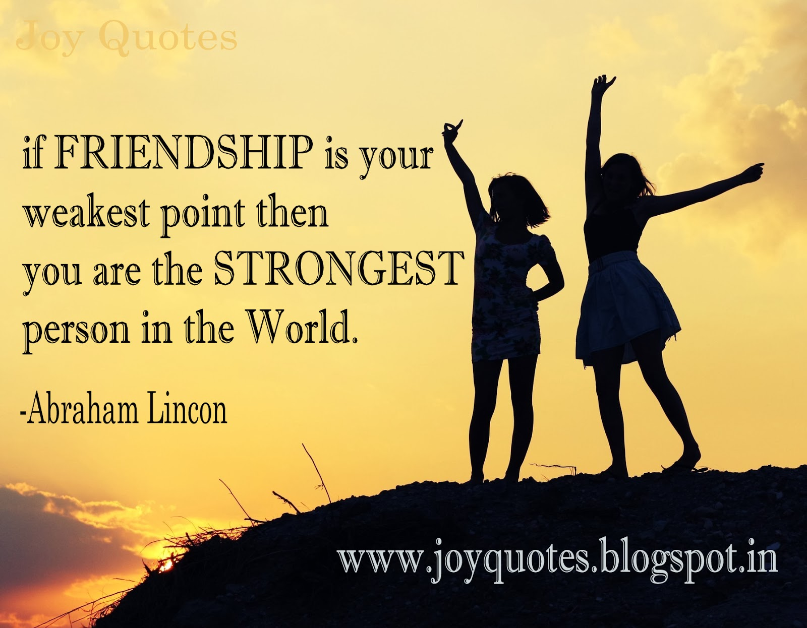 Quotes On Friendship Joy Quotes Friendship Quotes