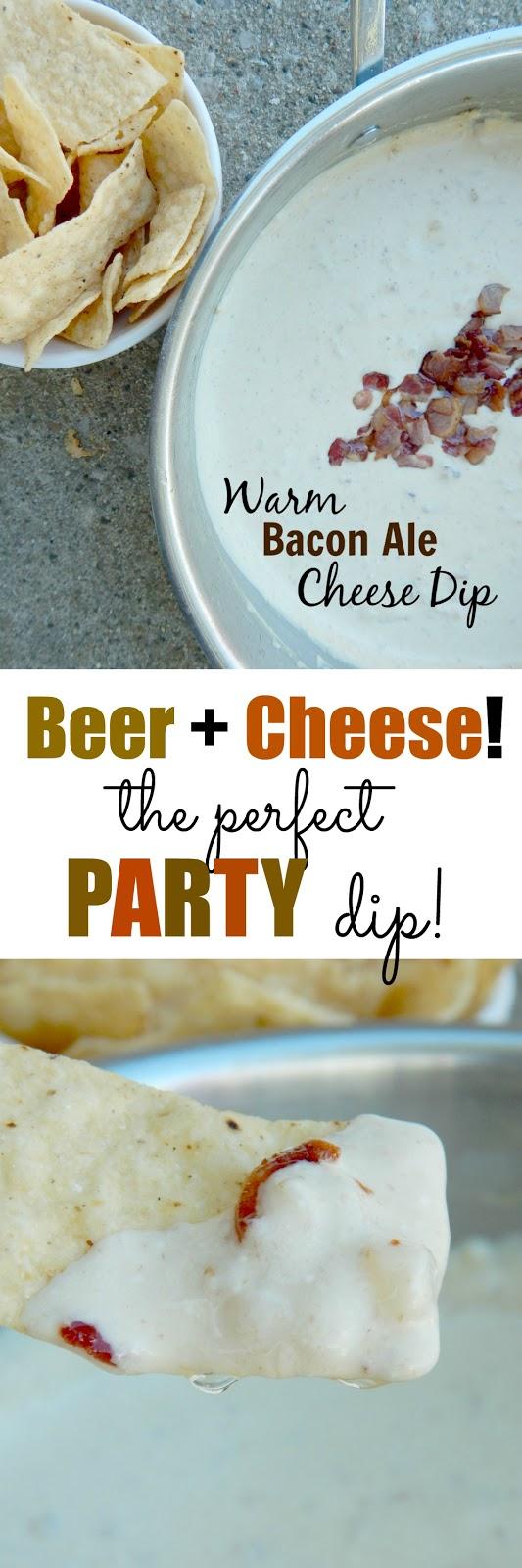 warm bacon ale cheese dip (sweetandsavoryfood.com)