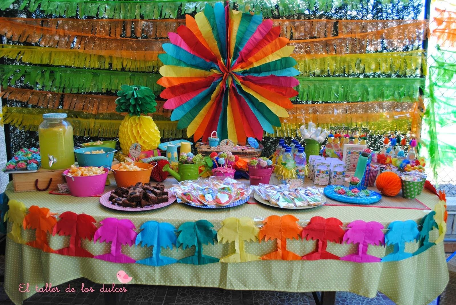 El taller de los dulces mesas dulces y celebraciones - Decoracion cumpleanos infantiles manualidades ...