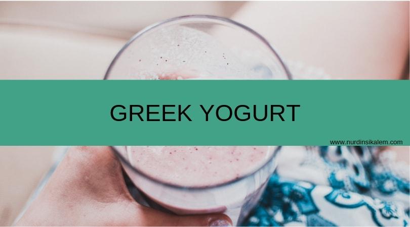 Greek yogurt tinggi protein buat kamu