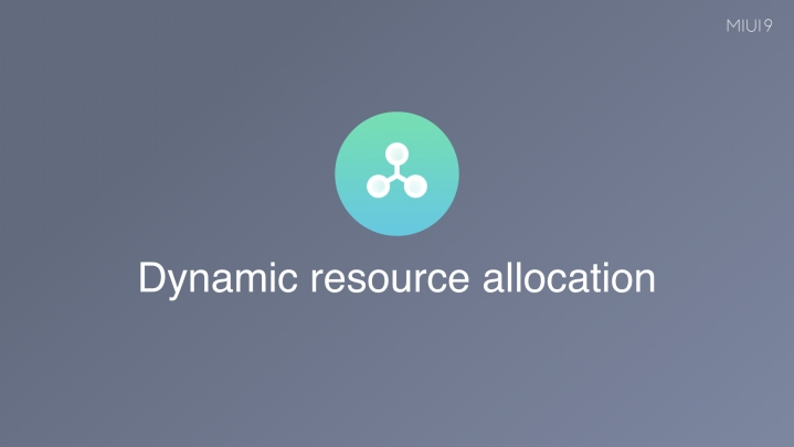 Dynamic Resource Allocation di Miui 9