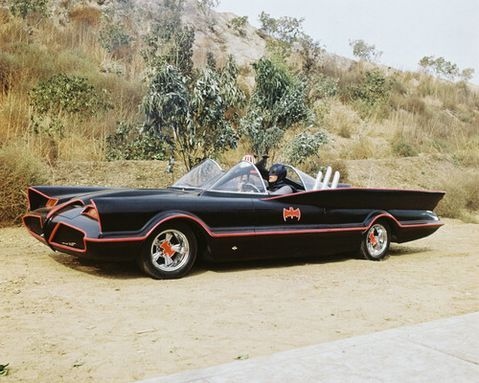 George Barris 1966 TV Batmobile